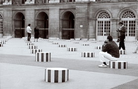 L'instant décisif, Paris, Palais Royal